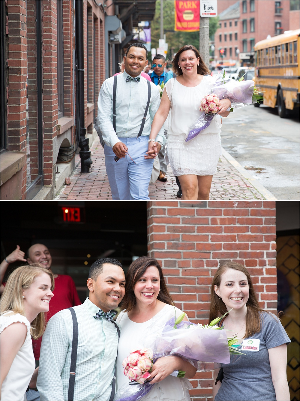 Boston Elopement Photographer, Boston Elopement Photography, Christopher Columbus Park Boston Wedding, Intimate Wedding Boston, Boston intimate wedding photography, small and intimate boston wedding, Mamma Maria Boston Wedding